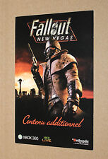 Used Fallout New Vegas Caravan Pack Card USED Sold only as a Collectible