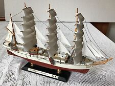 Nippon Maru 1930 Design Metal Model Replica Sail Boat