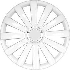 "4x tapacubos Spyder pro White blanco aduana 14"" para todos los automóviles (excepto bus) para pulgadas 14"