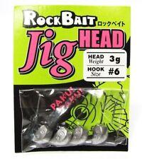 VIVA AQUA WAVE ROCK BAIT JIG HEAD HOOKS - SIZE:1 ~ 0.6gr