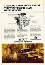1979 Ihc International Harvester Scout - Classic Vintage Advertisement Ad D19