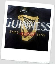 GUINNESS BY NIGHT BLACK T-SHIRT & SHORTS SET SIZE M