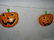 halloween inflatable pumpkin banner 8ft long