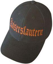 BASEBALLCAP CAP BERRETTO schirmmuetze muetze NERO CON STICK Kaiserslautern 68896