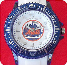 RARE NEW YORK METS WATCH MLB LICENSED GAME TIME