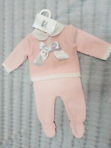 Pex Rowena SPANISH Knitwear 2pc suit top and pants 3-6months