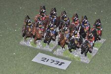 25 mm Renaissance/allemand-pistoleers 12 figurines cavalerie-CAV (21738)