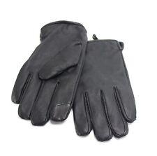 Calvin Klein Men's Black Size XL Solid Winter Gloves Leather Accessory $55- 349