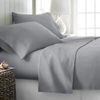 a0e01913a28 Premium Hotel Quality 4 Piece Deep Pocket Bed Sheet Set Comfort King Queen  Size