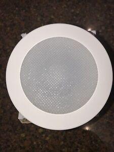 Nicor Recessed Lighting Trim Albalite Shower Light Circular Piece 19509WH White
