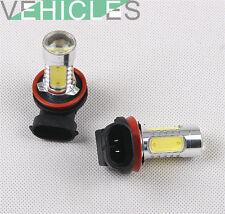 2 × Front LED Fog Light H11 Bulbs For AUDI A3 S-Line A4 B6 B7 B8 A5 A6 A8 Q5 Q7