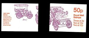 GB #FB13-A 1977 50p Daimler booklet (12p aligned to right)  CV £1.50