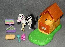 Meine kleine Tierwelt Zebra Pferd Familie My littlest Petshop 80er 90er Jahre a