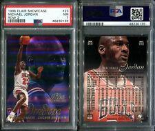 PSA 7 1996-97 Flair Showcase Row 2 #23 Michael Jordan Chicago Bulls G00 3301