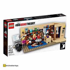 LEGO 21302 IDEAS The Big Bang Theory Set | Ages 7+ | 484 Pieces | NEW SEALED