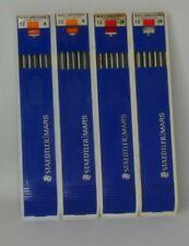 Four Packs Vintage STAEDTLER /MARS LUMOGRAPH Leads
