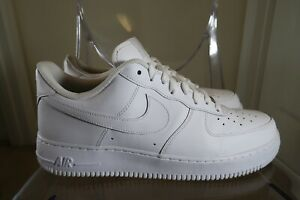 Nike Air Force 1 '07 Size 12 Athletic Shoes - White 315122-111