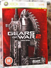 GEARS OF WAR 2 limited edition collector   XBOX360 Ed. UK