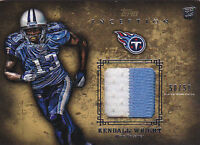 KENDALL WRIGHT RC 2012 TOPPS INCEPTION GOLD #RP-KW 2CLR PATCH #50/50 FB6309