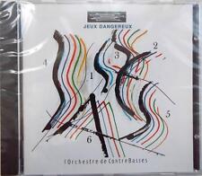 BRAND NEW   JEUX DANGEREUX   L'Orchestre de ContreBasses    DDD    CD