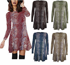 Unbranded Plus Size Animal Print Casual Dresses for Women