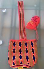 Wayuu MOCHILA BAG BORSA SACCA SECCHIELLO ARTIGIANATO COLOMBIANO. COLOMBIA