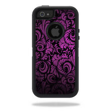 Skin Decal Wrap for OtterBox Defender iPhone 5/5s/SE Case sticker Purple Style