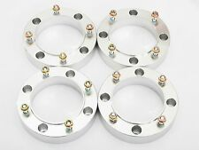 "4 Qty 1"" 4x110 Wheel Spacers Part Honda TRX Yamaha Rhino 4/110 Front or Rear ATV"