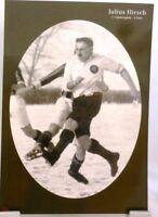 Julius Hirsch + Fußball Nationalspieler DFB + Fan Big Card Edition B352 +
