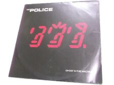 THE POLICE GHOST IN THE MACHINE A&M UNIQUE LABEL RARE LP record vinyl INDIA G+