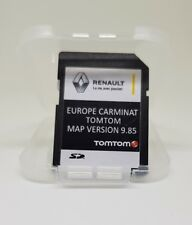 NOUVEAU! Renault TomTom Carminat Sat Nav SD Card Europe + UK Sat Nav Map 2017 2018