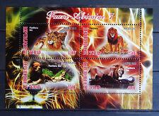 Löwen 04 1 lions Katzen cats Tiere animals Fauna faune Natur postfrisch ** MNH