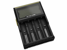BÖKER 09jb007 Chargeur Nitecore Digicharger d4 universal chargeur station