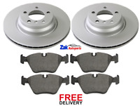 FOR BMW 3 SERIES E90 E91 330 + 330D (05-11) FRONT BRAKE DISCS & PADS SET *NEW*