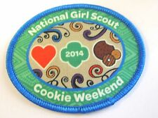 "Girl Scout Cookie Sale Fun Patch ""2014 National Girl Scout Cookie Weekend """