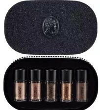 MAC Pigment Glitter Objects Of Affection GOLD + BEIGE 5 Pc Gift Set Authentic