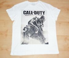 BNWT Primark mens CALL OF DUTY ADVANCED WARFARE white t-shirt size x large