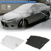 Magnetic Windscreen Car Cover Windshield Frost Ice Snow Dust Protector Sun Shade