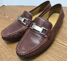 bdeeae2537f Cole Haan Bit Loafer Moccasin Women Size 5.5 Brown Leather