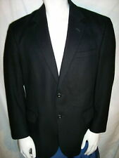 Jos. A. Bank 42S Black Cashmere 2 Button Blazer Jacket Sports Coat
