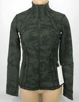 NEW LULULEMON Define Jacket 4 6 8 10 12 Incognito Camo Gator Green FREE SHIP