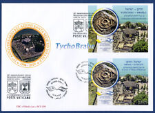 FDC DIPLOMATIC RELATIONS 2019 JOINT First Day Cover Vatican + Israel FILITALIA