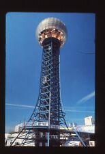 Orig 35mm Slide Transparency TV Station Sunsphere World's Fair Knoxville Tn