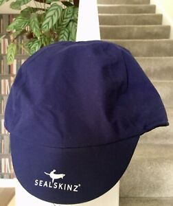 Sealskinz waterproof all weather cycling cycle outdoors sports cap size S/M blue