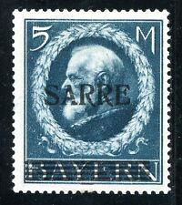 SAAR 1920 30V * ABART A beschädigt geprüft u.a BPP 2500€(S0047