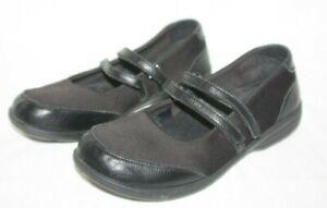Abeo Smart Leather Mary Jane Shoes 3D3 Core Orthotic Black Comfort Walking SZ 9