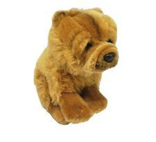 GANZ WEBKINZ SIGNATURE CHOW CHOW WKS1078 TAN PUPPY DOG STUFFED ANIMAL PLUSH TOY