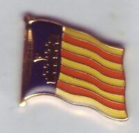 Mallorca Flaggenpin,Majorca Flag,Pin,Badge,Anstecker