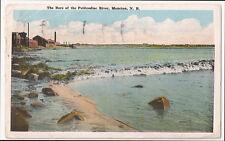 Canada Moncton NB The Bore of the Petitcodiac River - Vintage Postcard