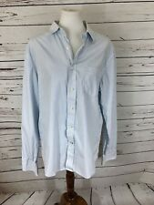 Gap Men's Fitted Fit Long Sleeve Shirt Size Large